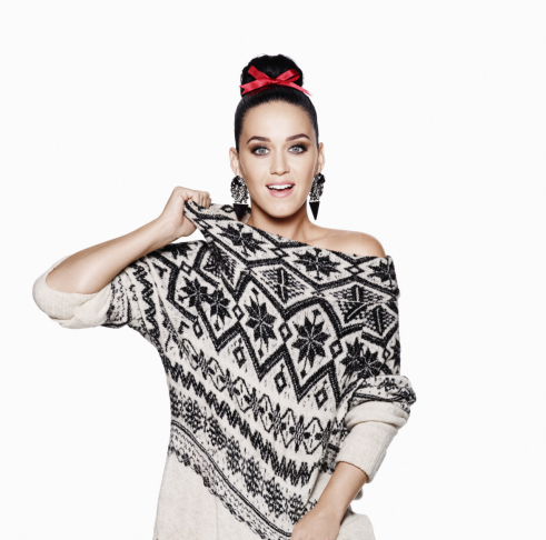 Katy Perry Holiday Print Campaign 2015
