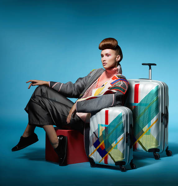 Fashion graduate collaborates with Samsonite