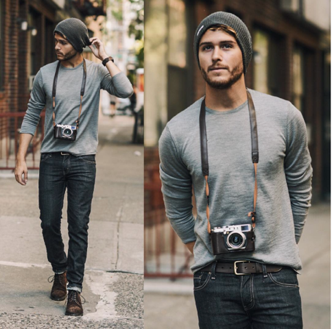 Fashion Blogger Adam Gallagher