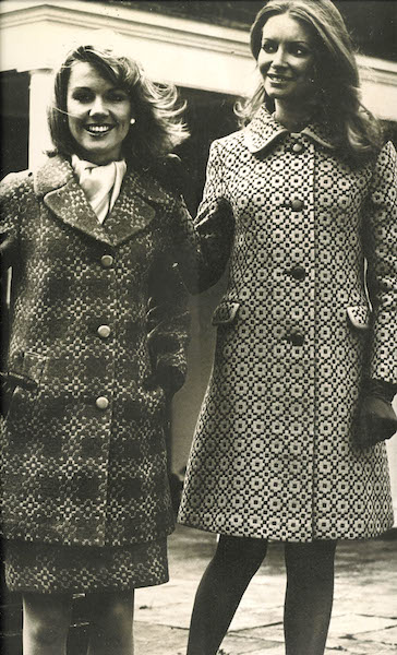 Vintage coats and skirt