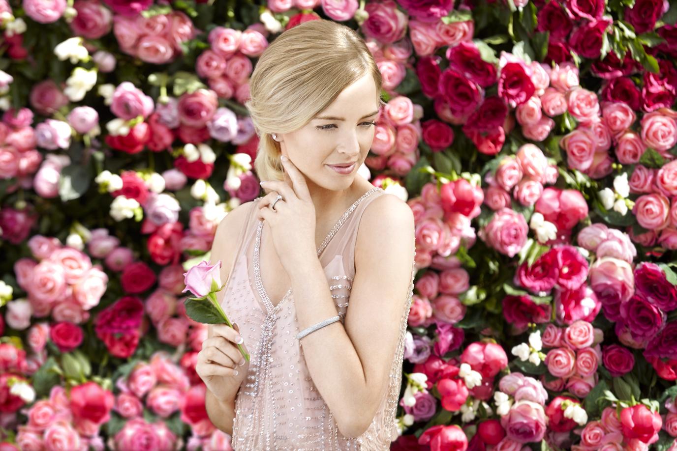 Amy Laing Edinburgh Rose Wall