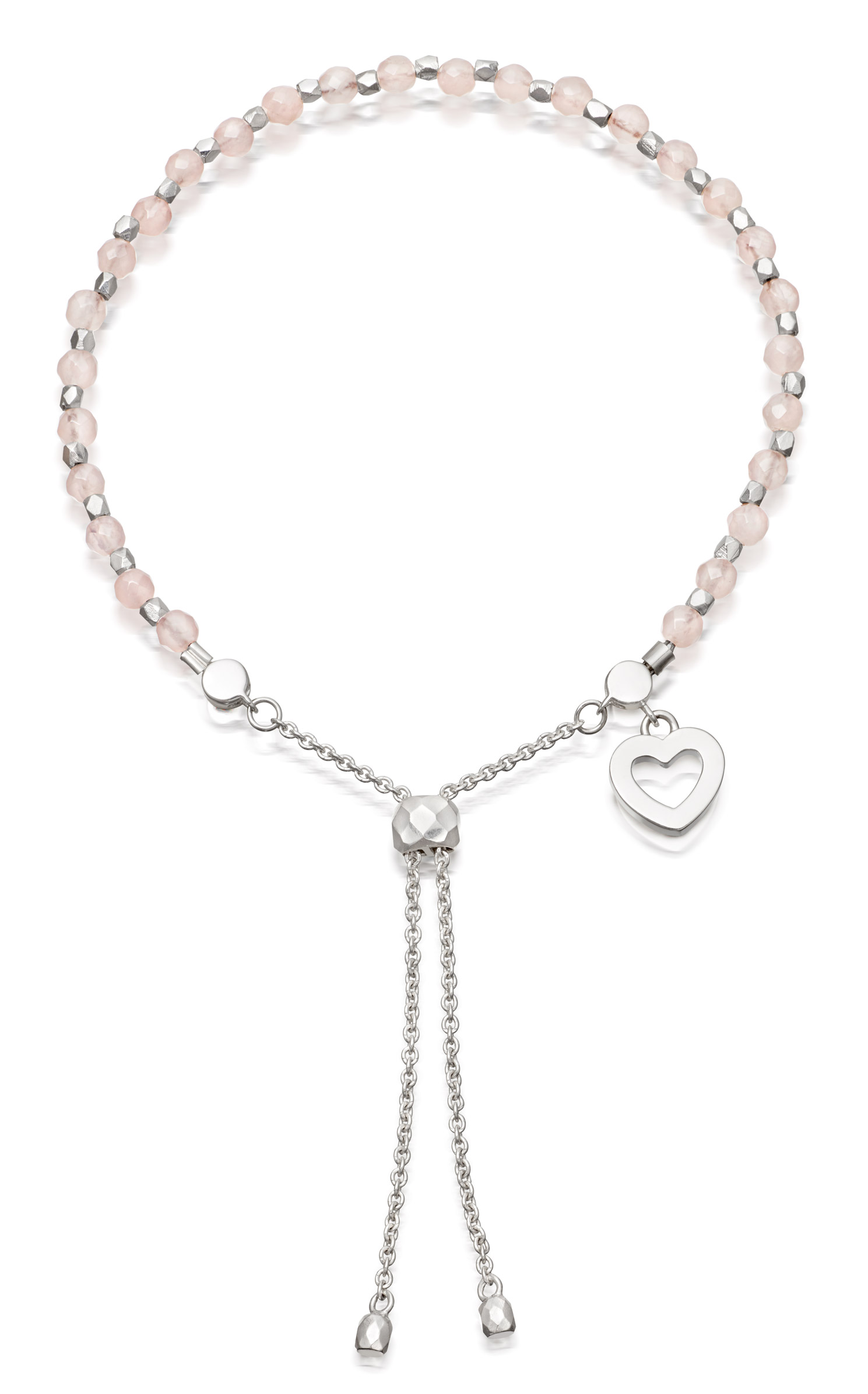 Astley-Clarke-Rose-Quartz-Friendship-Bracelet £70